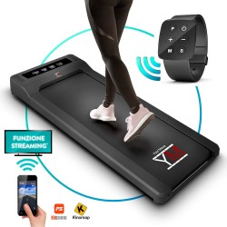 YM - Cinta de correr eléctrica plana Walking Pad escritorio
