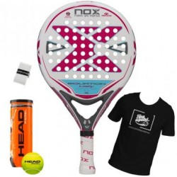 PALA DE PADEL DE CONTROL NOX EQUATION LADY A.4 2019