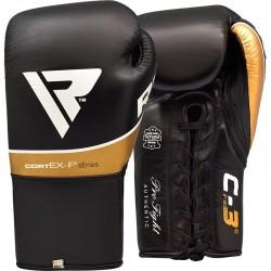 Guantes de boxeo de combate RDX C3 Pro aprobados por BBBofC