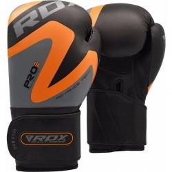 RDX F12 Guantes de cuero para entrenamiento de boxeo