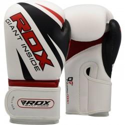 RDX F10 Guantes de cuero para entrenamiento de boxeo