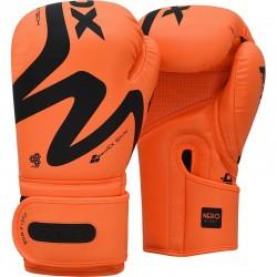 RDX F15 Nero Orange Boxing Gloves