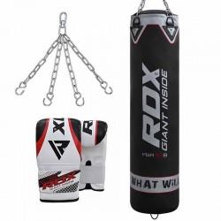 RDX X1 Saco de Boxeo y Guantes de Saco