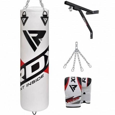 RDX F10 Saco de Boxeo con Guantes y Soporte de Pared