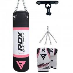 RDX X4 Saco de Boxeo con Guantes y Gancho de Techo