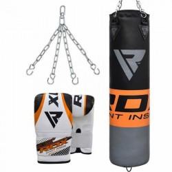 RDX F12 Saco y Guantes de Boxeo