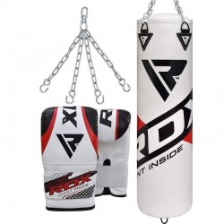 RDX F10 Saco de Boxeo con Guantes de Saco