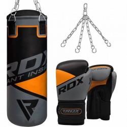 RDX 8O Set de Saco de Boxeo Para Niños de 2 Pies y Guantes