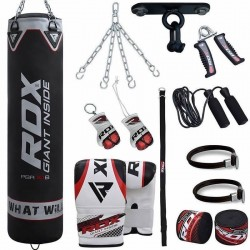 RDX X1B F12 13 pzas Set de Saco de Boxeo para Gimnasio en Casa