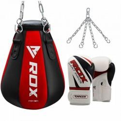 RDX Saco de Boxeo Maíz con Guantes de Boxeo