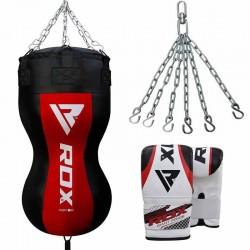 RDX BR Saco de Boxeo con Guantes de Saco