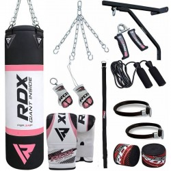 RDX X2 4ft Saco de Boxeo con Guantes Gimnasio en Casa 17 Pzas