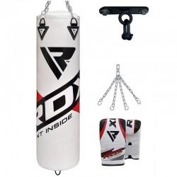 RDX F10 Saco de Boxeo con Guantes y Gancho de Techo
