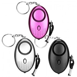 Eletorot Personal Mini Alarmas de seguridad 140DB aprobada por policia