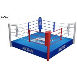 RING DE BOXEO 4 X 4 METROS CON PLATAFORMA 30, 40 o 50 CM