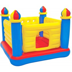CASTILLO INFLABLE TIPO RING MULTICOLOR INTEX 48259NP