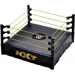 PEQUEÑO RING WWE DE ADORNO SUPERESTRELLAS BASIC NXT (MATTEL FMH15)