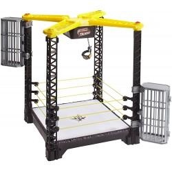 WWE- GRAN JAULA RING DE CAMPEONATO, 47 X 37 CM (MATTEL FFH41)