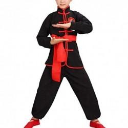 besbomig Tradicional Ropa Tai Chi Uniformes Niños Adulto - Traje de Kung Fu Artes Marciales Completa Kimono para Mujer Hombre