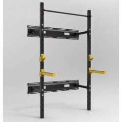 RACK CROSSFIT PLEGABLE DE PARED TS108 ABATIBLE
