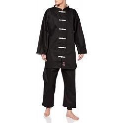 M.A.R International Kung Fu Uniforme Gi Traje de Ropa de Disfraz, Artes Marciales, Wu Shu Wing Chun Tai Chi, Tejido de algodó