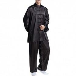 besbomig Clásico Unisexo Trajes Tang Kung fu Artes Marciales Conjuntos de Uniformes - Artes Marciales Tai Chi Ropa de Practic