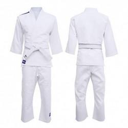 Starpro Traje de Judo Uniforme Entrenamiento - Karate Gi Kit IJF MMA Artes Marciales Lucha de Taekwondo Kimono Blanco 250g |