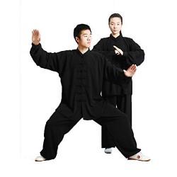 GEGEQ® Kung Fu Tai Chi Shaolin Ropa Tai Chi Ropa de Ejercicio de la mañana Ropa Kung fu Ropa de Artes Marciales Ropa de Seda