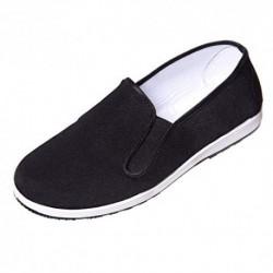 DoGeek-Zapatillas Kung fu Zapatos Kung fu Unisex Zapatillas de Artes Marciales Negro