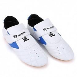 VGEBY Taekwondo Zapatos, Unisex Niños Adultos Ligero Zapatillas de Artes Marciales para Taekwondo, Boxeo, Karate, Kung Fu y T
