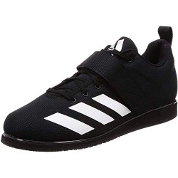 ADIDAS POWERLIFT 4 BC0343, ZAPATILLAS DE DEPORTE PARA HOMBRE, NEGRO CORE BLACK/FOOTWEAR WHITE/CORE BLACK 0 , 40 EU