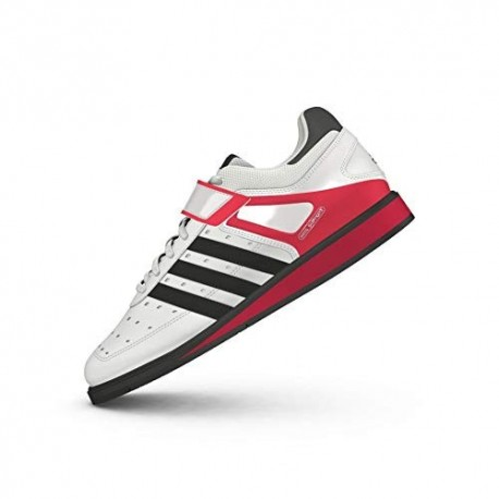 adidas Power Perfect II, Zapatillas Deportivas para Interior, Unisex Adulto, Multicolor Running White Ftw/black /radiant Red