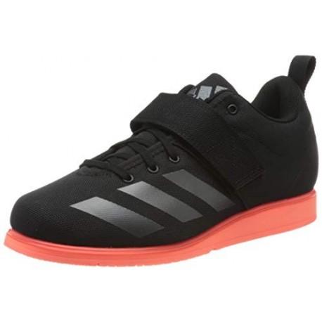 adidas Powerlift 4, Zapatillas de Deporte para Hombre, Negro Core Black/Night Metallic/Signal Coral , 45 1/3 EU