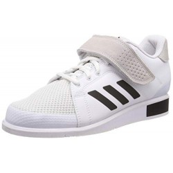 ADIDAS POWER III, ZAPATILLAS DE DEPORTE PARA HOMBRE, BLANCO FOOTWEAR WHITE/CORE BLACK/FOOTWEAR WHITE 0 , 40 2/3 EU