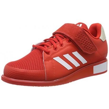 adidas Power III, Zapatillas de Deporte para Hombre, Rojo Active Red/FTWR White/Active Red Active Red/FTWR White/Active Red