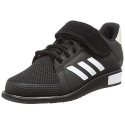 ADIDAS POWER 3 BB6363, ZAPATILLAS DE DEPORTE PARA HOMBRE, NEGRO CORE BLACK/FOOTWEAR WHITE/MATTE GOLD 0 , 42 EU