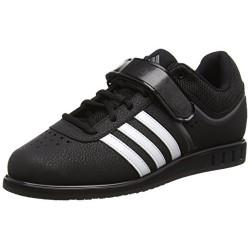 adidas Powerlift2, Zapatillas Unisex, Negro Core Black/White/Night Metal , 13 UK 48.5 EU