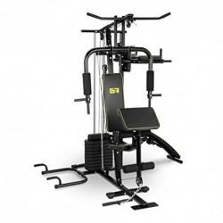 Gymrex Multiestación De Fitness GR-MG10 Peso Máximo del Usuario 120 kg, Rango De Ajuste del Respaldo, 90°, Rango De Ajuste d
