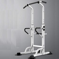 XXLHH Estación de Musculación, Torre de Gimnasio Entrenamiento Multifuncional, Multiestación con Barra de Dominadas Fitness,