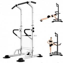 Multiestación Máquina De Musculación,Torre Multifuncional De Altura Ajustable Para Entrenamiento En Casa Equipo De Entrenamie