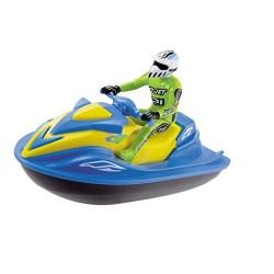 Dickie- Moto acuática 18cm con piloto 3772003 Simba , color/modelo surtido