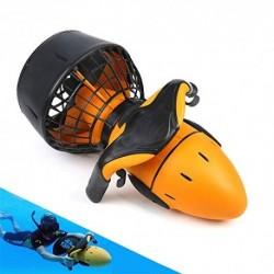BESTSUGER Submarino Vespa, subacuática Profesional con Booster 6km / h de Velocidad y 60Min Batería, 30M Profundidad del mar