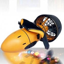 YCAXZSH Eléctrico Scooter Subacuático,Buceo Sea Pool Scooter,para Deportes Acuáticos Piscina & Buceo & Snorkel,Hélice De Dobl