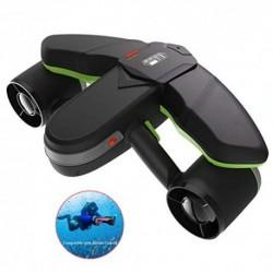 WWXXCC Inteligente Submarino Vespa con la acción del Montaje de cámara de visualización OLED 40M Impermeable para Deportes ac