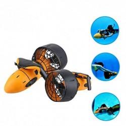 HYCy Scooter Sumergible Eléctrico a Prueba De Agua 300W Sea Sea Water Dual Propeller Diving Scuba Scooter Equipo De Deportes