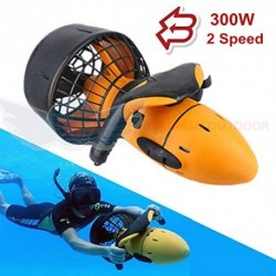 HYCy Nuevo Sea Scooter 300W Submarino Hélice De Agua De Doble Velocidad Submarino Buceo Scooter Equipo para Dropshipping Al A