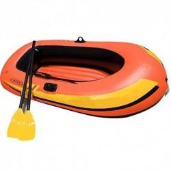 Kayak Explorer Dos o tres botes inflables Espesamiento de kayak Grupo de botes inflables Aerodeslizador for botes de pesca En
