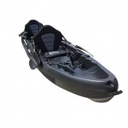 Cambridge Kayaks ES, Sun Fish TÁNDEM SÓLO 2 + 1,Negro RIGIDO