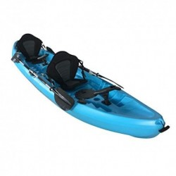 Cambridge Kayaks ES, Sun Fish TÁNDEM SÓLO 2 + 1,Azul, RIGIDO