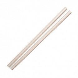 DEPICE - Arma de entrenamiento madera de roble, Blanco encerado